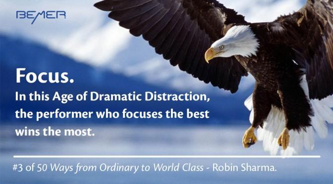 Focus – Robin Sharma